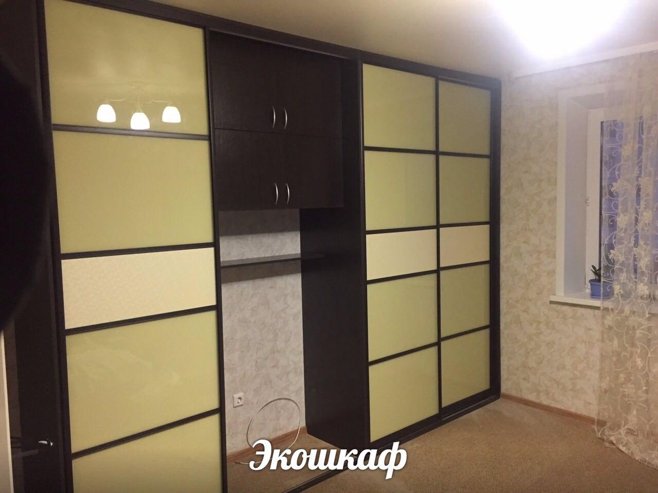 шкаф купе в большую комнату на заказ от производителя в Перми