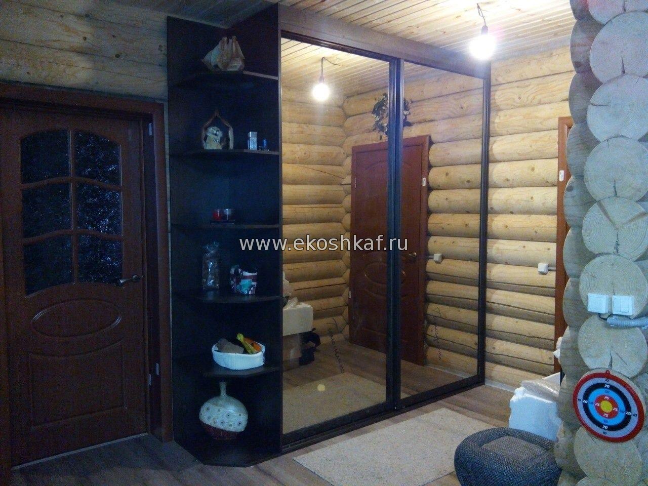 шкаф купе для прихожей на заказ от производителя в Перми