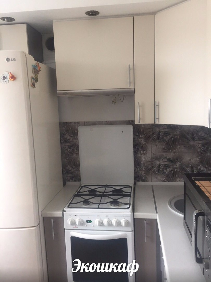 Угловая кухня в хрущевку на заказ в Перми
