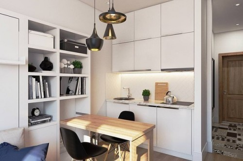 Недорогая мебель для маленькой кухни от производителя в Перми
